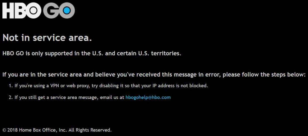 Amerika dışından HBO