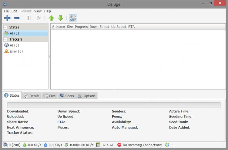 deluge torrent programı