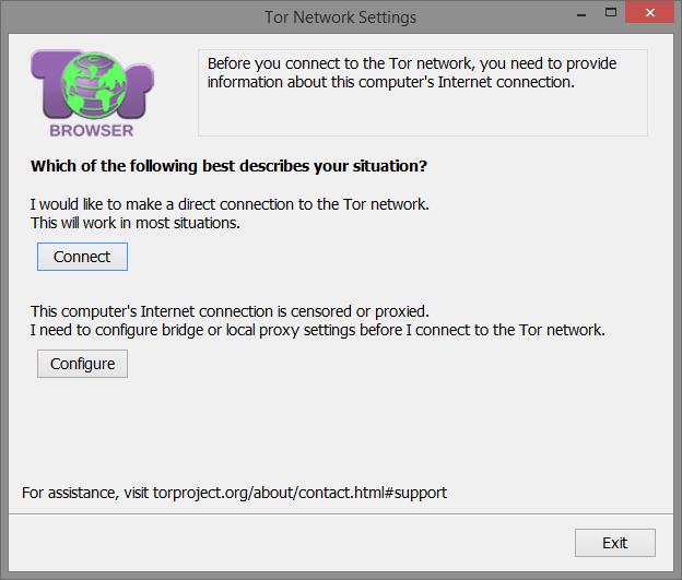 Tor ağ ayarları